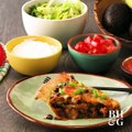 This yummy taco pie comes together in under an hour! Win!GET THE RECIPE: