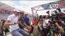 Grand Prix de France 2018 - Esteban Ocon, Romain Grosjean et Pierre Gasly profitent de la ferveur tricolore