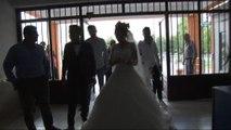 Önce sandığa sonra düğüne gittiler