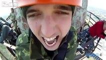 Ryss hoppar bungyjump - hans reaktion är så bra HAHA!På Lajkat Video video samlas alla de bästa klippen från nätet - in och gilla! :)