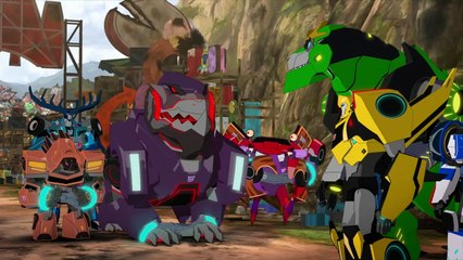 Transformers: Robots in Disguise: Combiner Force: Episode 22: Something He Ate (HD)