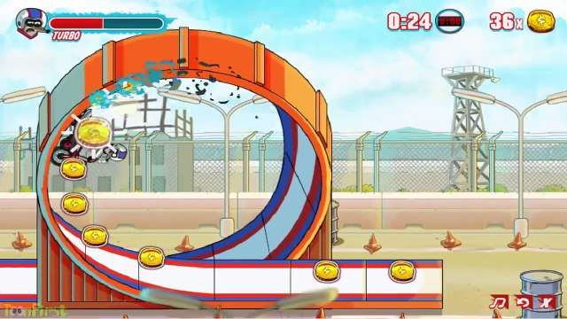 Regular Show  Daredevil Danger ¦ Final Level Regular Stunt - Cartoon Network Games