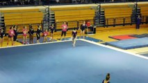 Anella Anderson Floor Exercise Yale 2-13-16