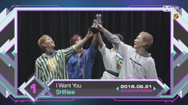 6월 셋째 주 1위 '샤이니'의 'I Want You' 앵콜 무대! (Full ver.)