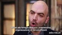 """Il video di Saviano diventato un vero caso politico. """"Buffone. Secondo te io sono felice di vivere così da più di undici anni?"""". Voi da che parte state?(Video"""