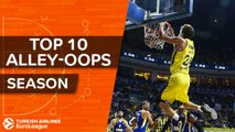 2017-18 Turkish Airlines EuroLeague: Top 10 alley-oops!