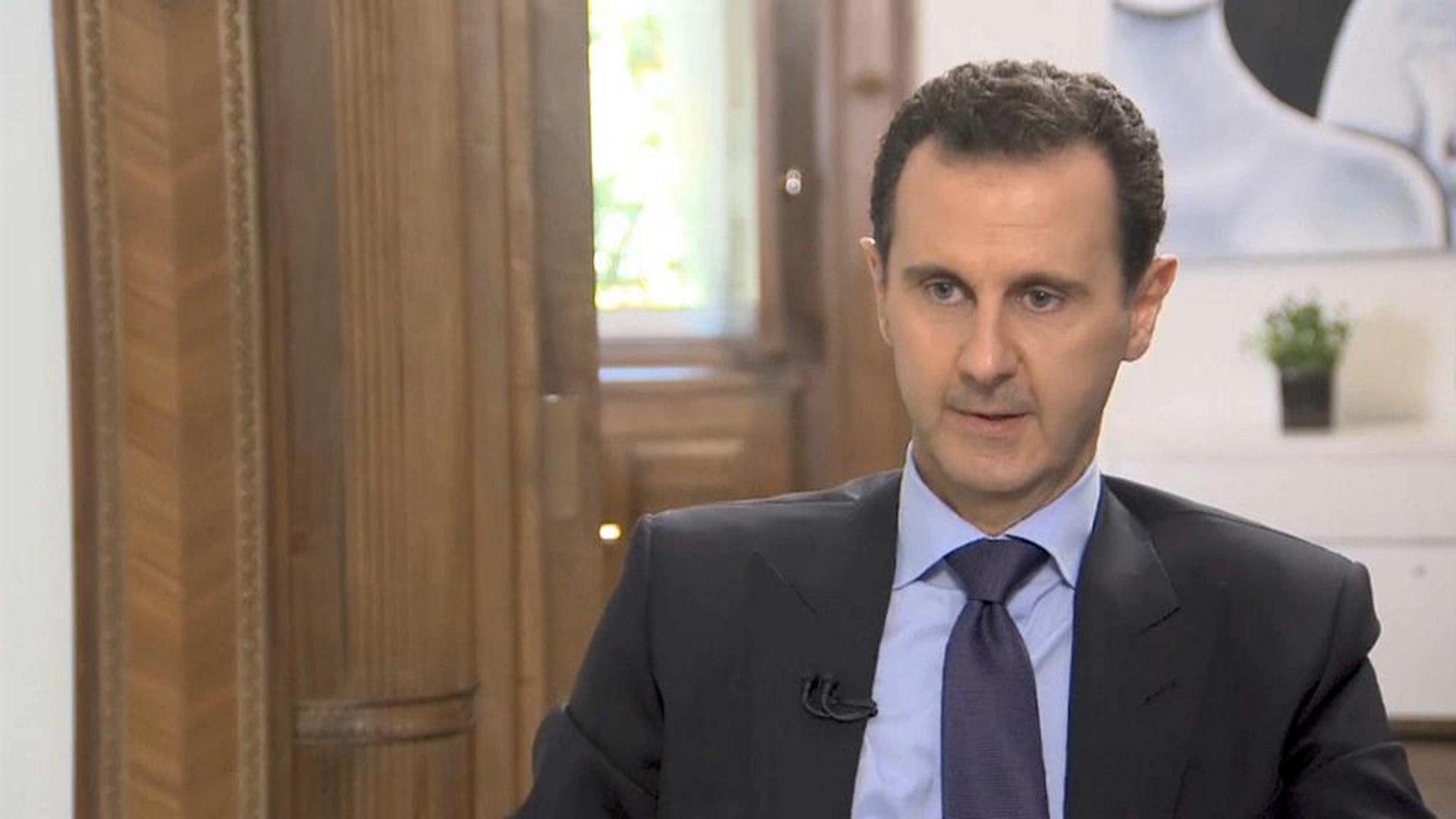 الأسد: رواية الكيميائي مغلوطة.. ولن نسمح بمشاركة الغرب في إعمار سوريا