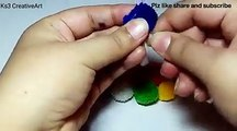 - DIY -Multicolour pompom earrings | pompom earrings | How to make pompom earrings – 5 minutes DIYCredit: Ks3 CreativeArtFull video: