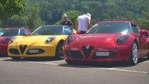 Alfa Romeo 4C Passion Meeting Interlaken - 4C trifft Giulia und Stelvio