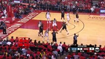 Stephen Curry Acts Like A FlopStar On James Harden!