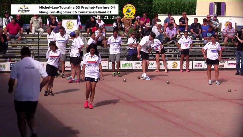 Quarts de finale, 13ème édition du Trophée Emile Terrier, Satolas et Bonce 2018