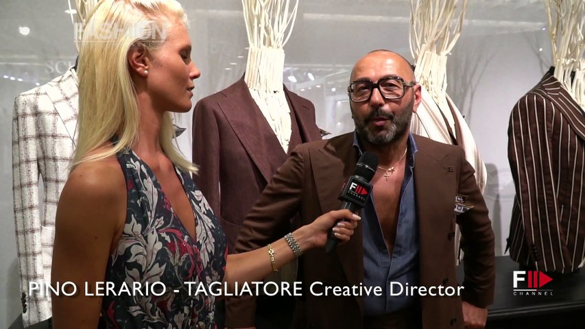 TAGLIATORE Interview with PINO LERARIO   Pitti 94 Firenze - Fashion Channel