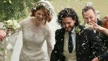 Jon Snow sposa la sua Ygritte: il matrimonio di Kit Harington e Rose Leslie