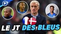 JT des Bleus : Didier Deschamps chamboule tout, la désillusion Benjamin Mendy