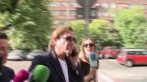 Pepe Navarro y Lorena Aznar se ven las caras en los juzgados