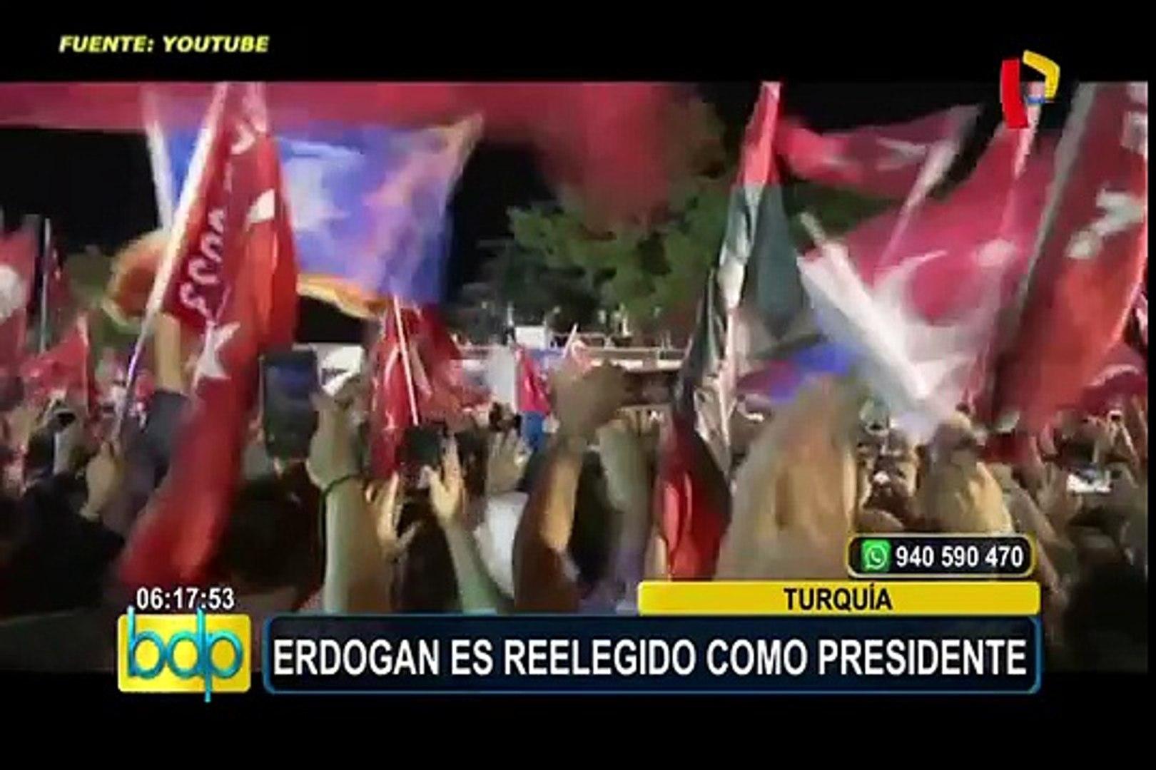 Turquía: Recep Tayyip Erdogan gana elecciones presidenciales