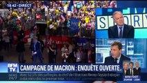 Campagne présidentielle d'Emmanuel Macron: enquête préliminaire ouverte