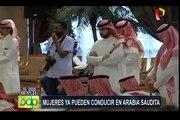 Arabia Saudita: por primera vez en la historia las mujeres pueden conducir autos
