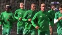 لقطة غريبة من فيصل فجر في تدريبات المنتخب المغربي ورد فعل هشام الخلصي ومحللو بين سبورت