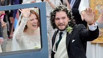 'Game of Thrones' Co-Stars Kit Harington And Rose Leslie Are Married!