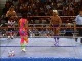 Randy Savage & Bret Hart vs. Ric Flair & Shawn Michaels
