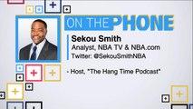 Tiki and Tierney: Sekou Smith talks LeBron James free agency