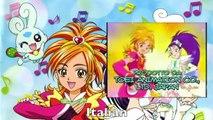 Pretty Cure Splash Star Opening Multilangauge Comparison