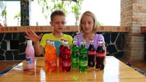 What happens when you add BLEACH to COCA COLA-