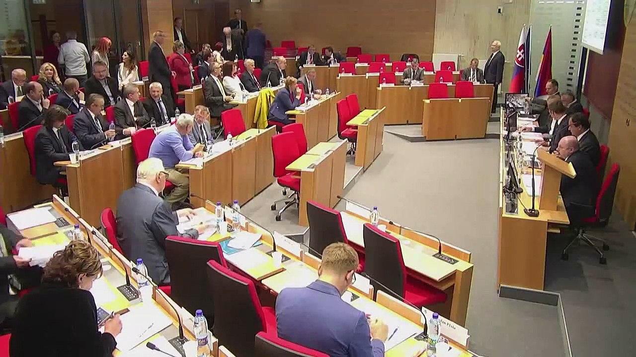PREŠOV-PSK 06: Záznam zasadnutia Zastupiteľstva Prešovského samosprávneho kraja (PSK)