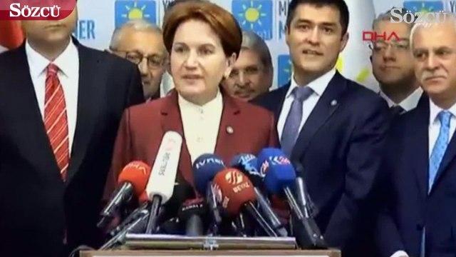 Meral Akşener'den seçim sonuçları ile ilgili açıklama