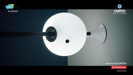 la minute CES Asia S03E01 : White Rabbit, la boule lumineuse intelligente