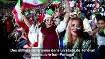 Mondial-2018: pour la première fois des Iraniennes au stade
