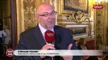 Loi alimentation : Stéphane Travert a « l'envie d'aller convaincre les sénateurs »