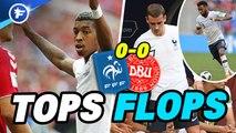 Les Tops et les Flops de France-Danemark
