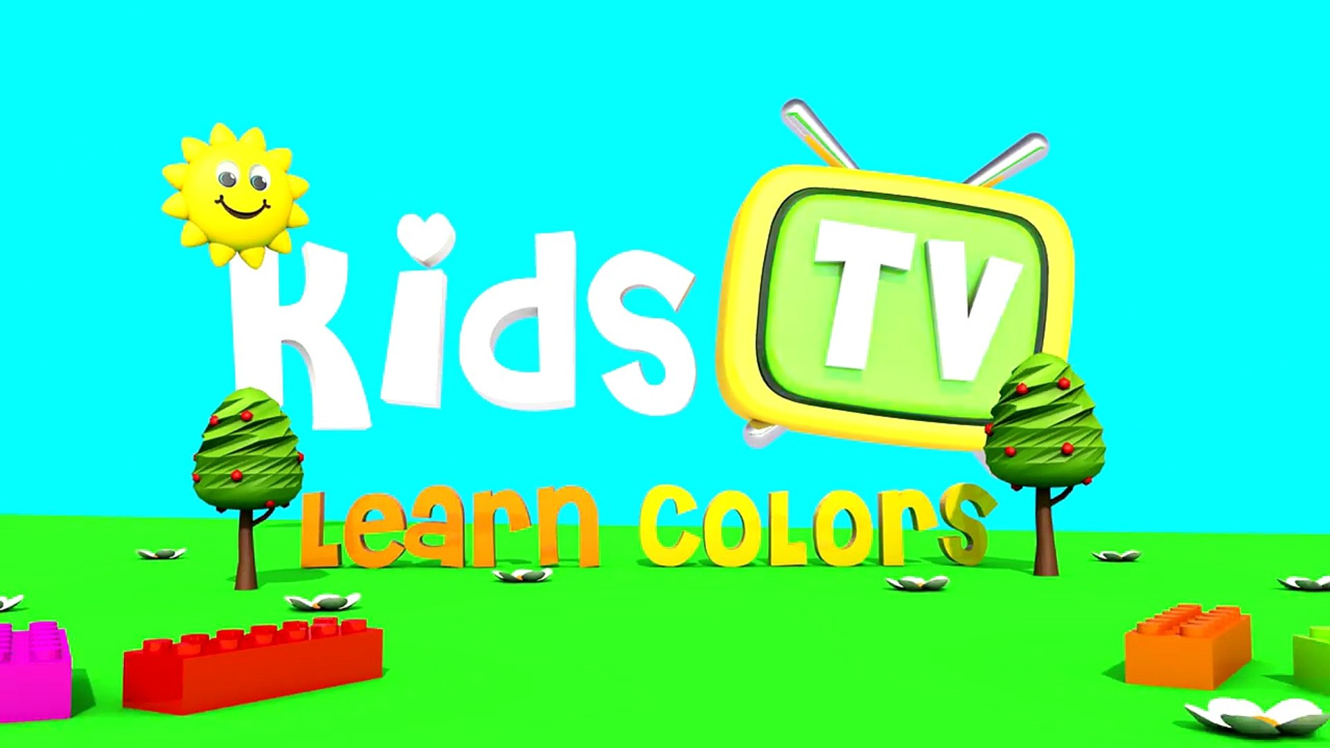 Learn Colors With Bees - Education Cartoon For Baby ? Video For Kids