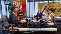 Ice Cube on Lakers' moves to land LeBron and Kawhi, Talks Lonzo, Magic | NBA | FIRST THINGS FIRST