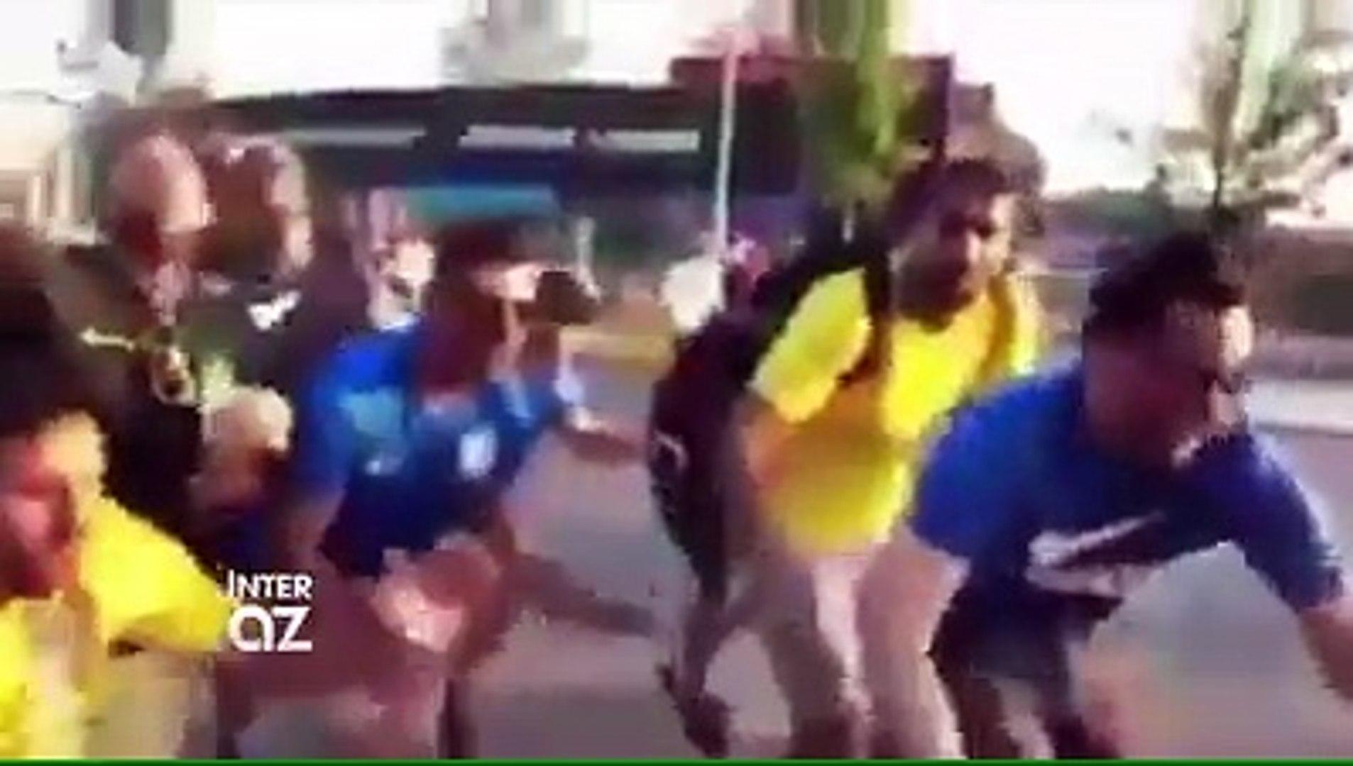 """Brazilya millisinin azarkeşləri Argentina və Messini belə trollayırlar """"O Dimariya, o Maserano, o Me"""