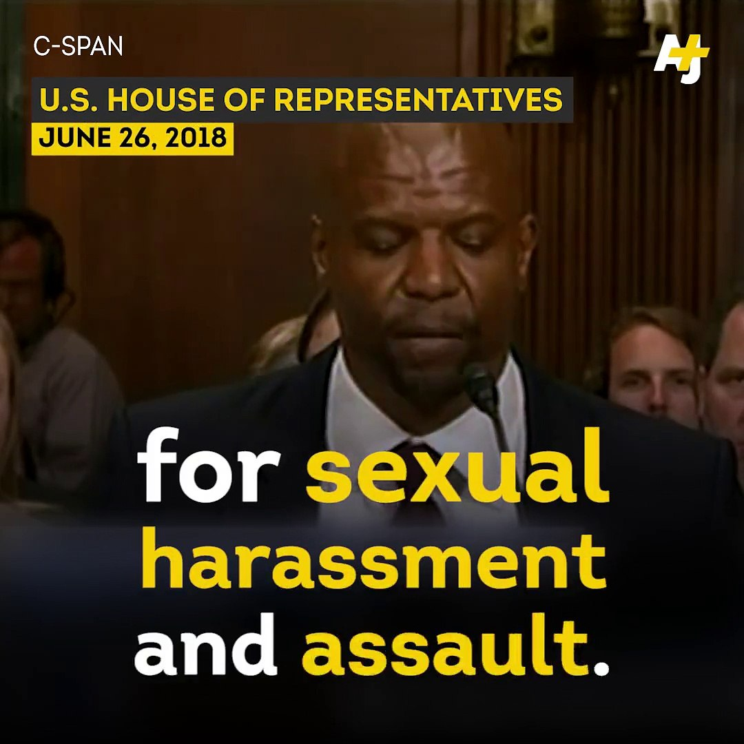 Actor and assault survivor, Terry Crews spoke to Congress about toxic masculinity and why the govt n