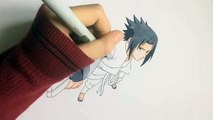 Dessin de Sasuke Pouvoir Magic