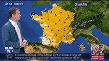 Un grand soleil cet après-midi avec des températures estivales: jusqu'à 30C° à Paris et 32C° pour le sud-ouest