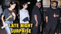 Arjun Kapoor Birthday: Janhvi Kapoor, Khushi Kapoor, Boney Kapoor Pay Visit