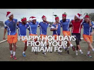 Happy Holidays from your Miami FC!!!