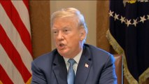 Trump talks immigration with GOP lawmakers