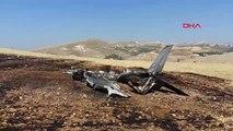 Adıyaman Besni İlçesinde Eğitim Uçağı Düştü