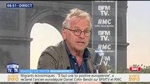 """Cohn-Bendit: """"Macron a complètement dérapé avec le petit jeune"""""""