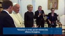La blague d'Emmanuel Macron sur les Bretons devant le pape François