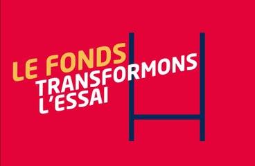 """Lancement du fonds de dotation """"Transformons l'essai"""""""