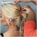 Beautiful hair styles & tips every girl should try: 1.How to tie your hair up with Tape Hair Extensions 2.Braids and Ponytails3.Short Hair Glam Transformatio