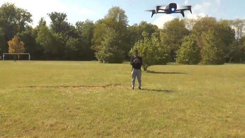 On a testé la nouvelle appli follow me sur un drone Parrot (Bebop 2 Power )