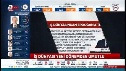 İTO Başkanı Avdagiç: Halkımız güvenli rotayı tercih etti